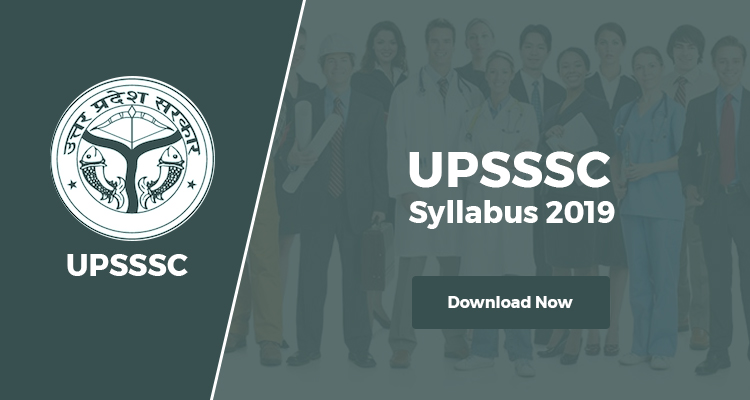 UPSSSC Syllabus 2019