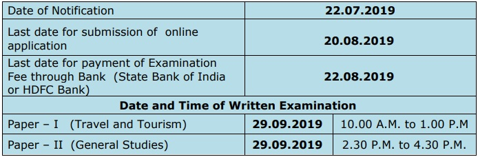 TNPSC ATO Exam Date 2019
