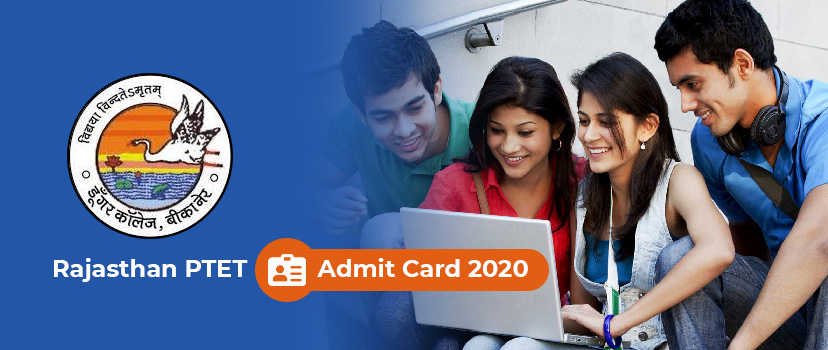 Download PTET Admit Card 2020 – DCB Rajasthan PTET Hall Ticket New Date Check at ptetdcb2020.org