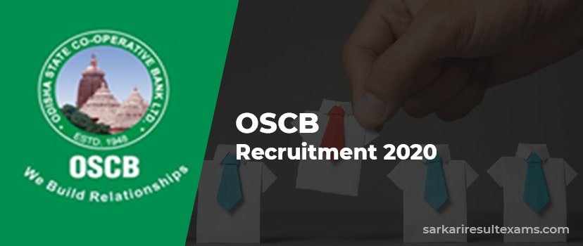 OSCB Recruitment 2020 Apply for 786 Banking Assistant, Assistant Manager (Gr 2) Jobs