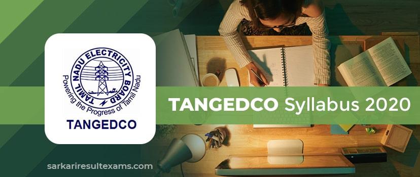 TANGEDCO Syllabus 2020 – TNEB 2900 Field Assistant Exam Syllabus Check Here