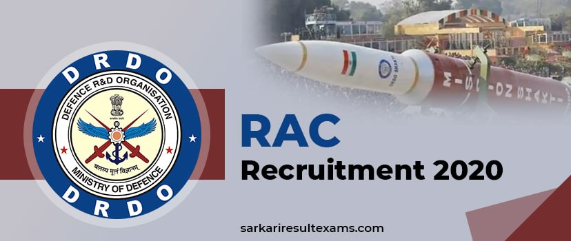 """RAC Recruitment 2020 – Apply Online for 167 Scientist """"B"""" Jobs at rac.gov.in"""