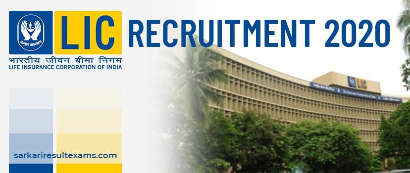 LIC Recruitment 2020 Apply Online for LIC 100 Finance, Insurance Advisor Jobs at ncs.gov.in