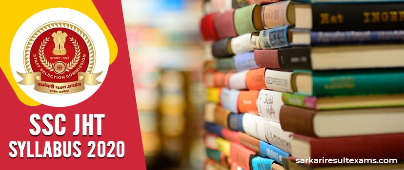{Free Pdf} SSC JHT Syllabus 2020 – Check Jr. Hindi Translator & SHT Exam Pattern From Here