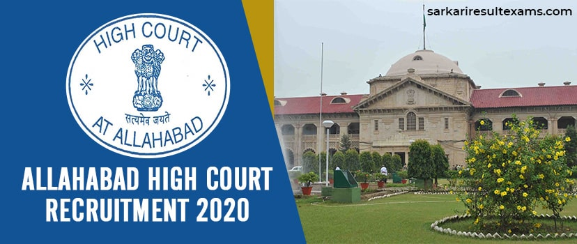 Allahabad High Court Recruitment 2020 Contractual Appointments on 102 Law (Clerk) Jobs