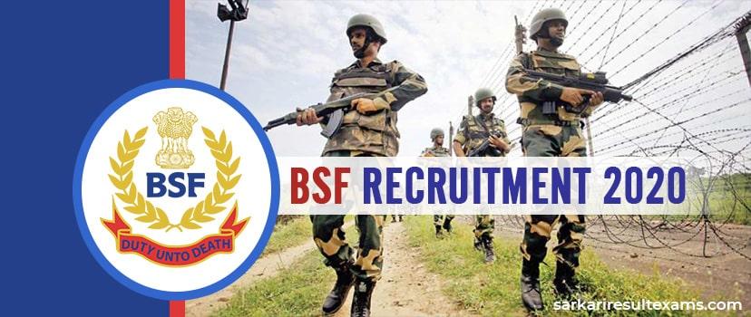 "BSF Recruitment 2020 Apply Online for Border Security Officer 53 ""Gr A"" Pilot, Engineer Jobs"