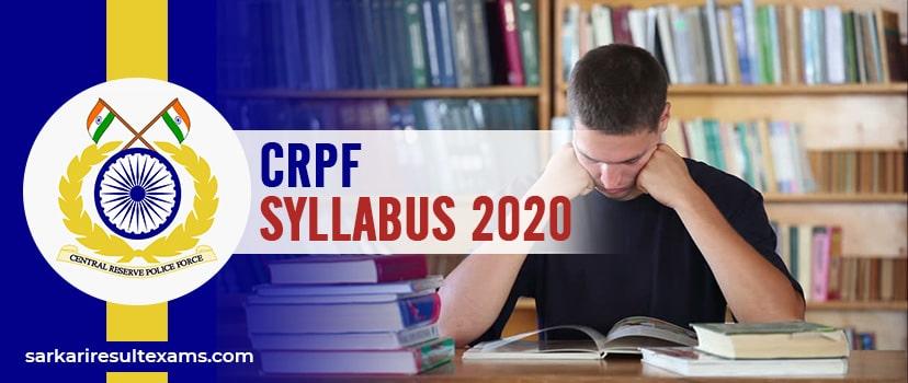 CRPF Syllabus 2020 – CRPF 789 Paramedical Staff (ASI & SI) Exam Pattern at crpf.gov.in