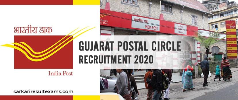 Gujarat Postal Circle Recruitment 2020 Online Apply for 144 Gujarat Post Office Vacancy Before 31.07.2020