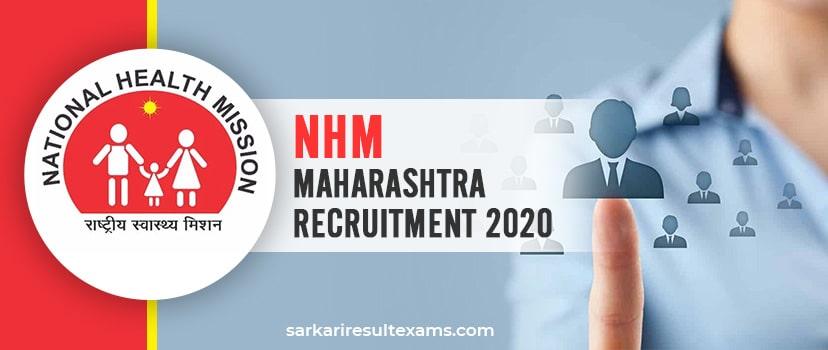 NHM Maharashtra Recruitment 2020 Apply for Maharashtra NRHM 8455 CHO Vacancies