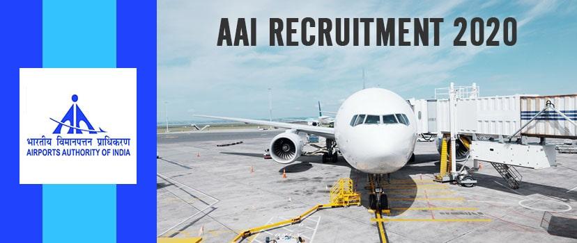 AAI Recruitment Through GATE 2020 Apply Online for 180 Junior Executive Jobs at aai.aero