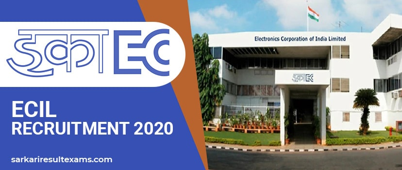 ECIL Recruitment 2020 Apply Online for 285 ITI Trade Apprentice & Other Jobs at ecil.co.in