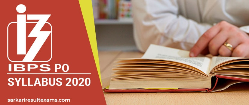 Download IBPS PO Syllabus 2020 – IBPS PO-MT Exam Pattern, RRB 10 Old Papers at ibps.in