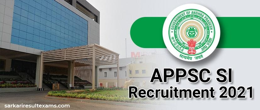 Arunachal Pradesh PSC Recruitment 2021 Apply Online for APPSC 123 SI Vacancies