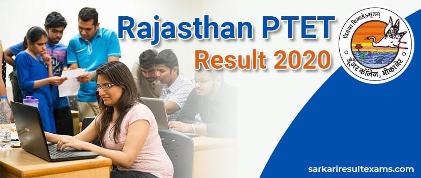 Download Rajasthan PTET Result 2020 – PTET B.Ed Exam Result Direct Link, Counseling Date Check at ptetdcb2020.com