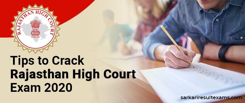 Tips to Crack Rajasthan High Court Exam 2020 – 1760 Clerk (Grade 2) Exam Tricks