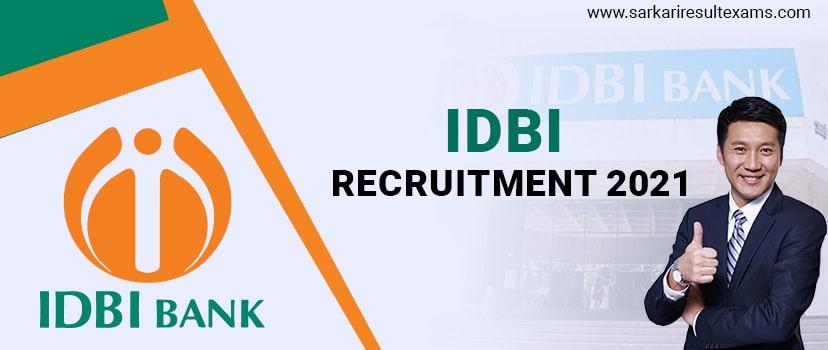 IDBI Bank Recruitment 2021 – Apply Online for IDBI 134 Specialist Officer Jobs, Last Date 07.01.2021