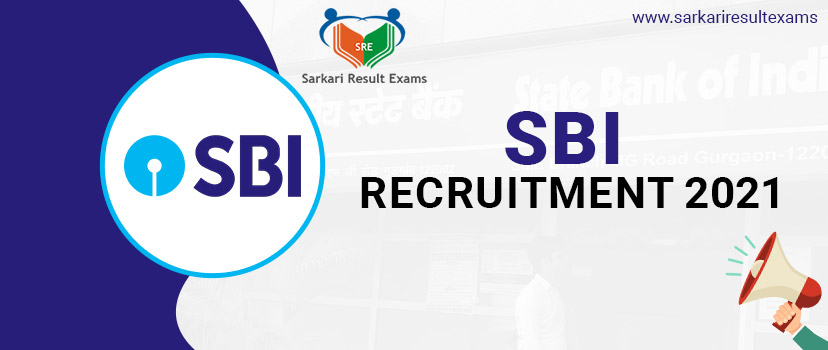 SBI Recruitment 2021 Notification for 236 Specialist Officer (SCO) Posts Apply Online