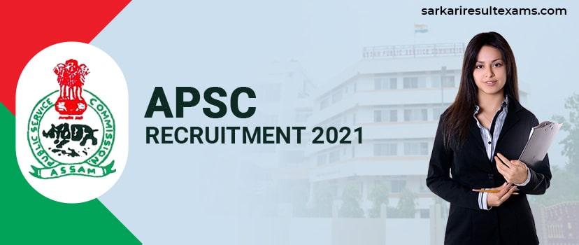 APSC Recruitment 2021 Apply Online for APSC 92 Junior Engineer (Civil) Jobs at apsc.nic.in