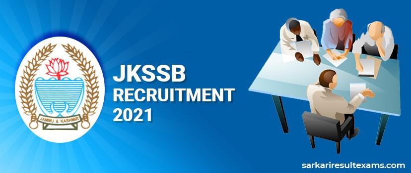 JKSSB Recruitment 2021 – Apply Online for 927 Jal Shakti, Horticulture & Information Posts