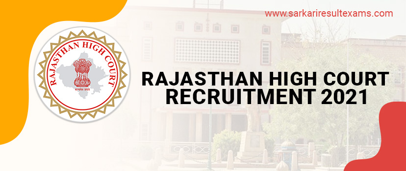 Rajasthan High Court Recruitment 2021: Vacancy for 85 District Judge Job, Check Salary, Fees, Eligibility