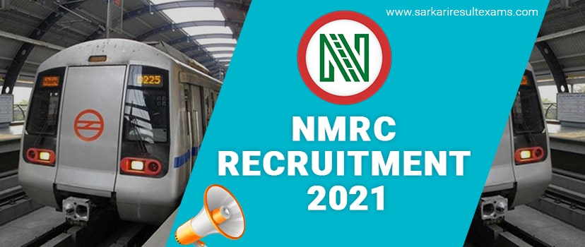 NMRC Recruitment 2021-2022 Notification Pdf For Maintainer, JEN, Office Assistant & Other Posts