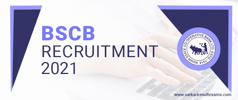 BSCB Recruitment 2021 – Bihar State Cooperative Bank Jobs for 200 Assistant (Multipurpose) Jobs