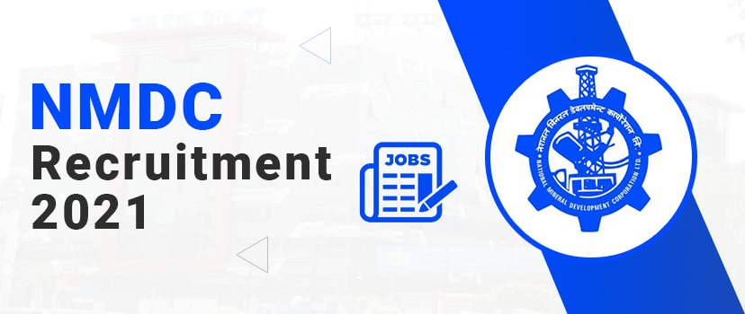 NMDC Recruitment 2021 Apply Online for NMDC 304 Maintenance Assistant Jobs at nmdc.co.in